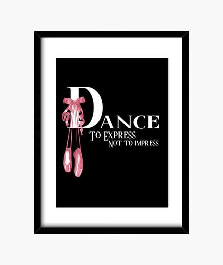 Cuadro Baile Ballet