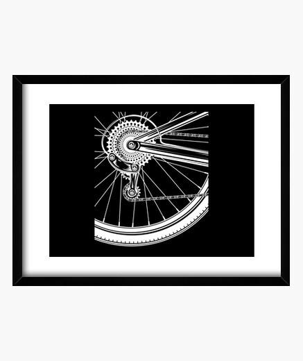 Cuadro bicicleta de montaña mtb