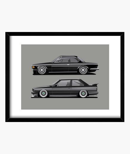 Cuadro BMW e30 y e9