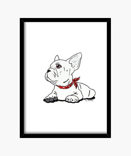 Cuadro Bulldog Francés.