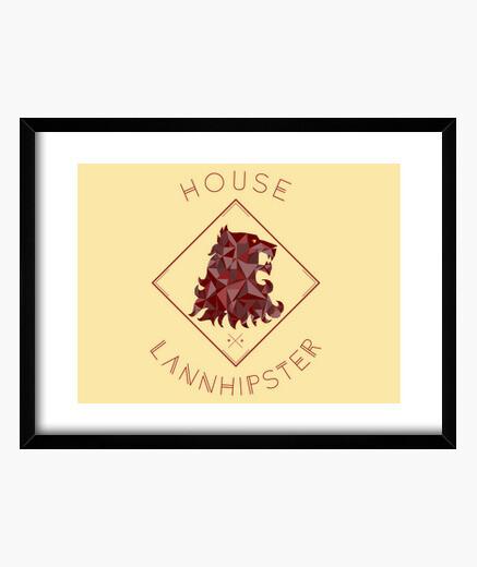 Cuadro casa lannhipster