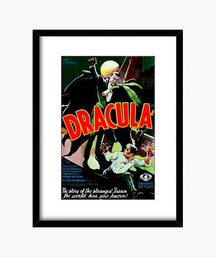 Cuadro con Cartel de la Película Drácula de 1931