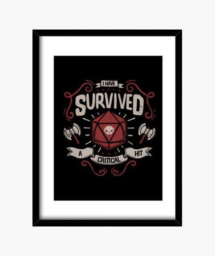 Cuadro Critical hit survivor