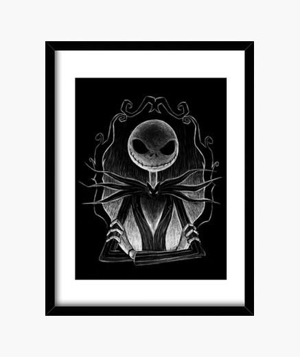 Cuadro Dark Jack print