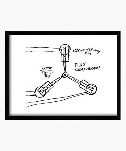 Cuadro Dibujo Condensador de Fluzo