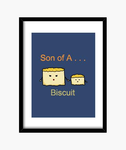 Cuadro hijo de una galleta