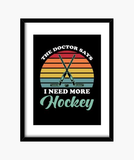 Cuadro hockey sobre hielo
