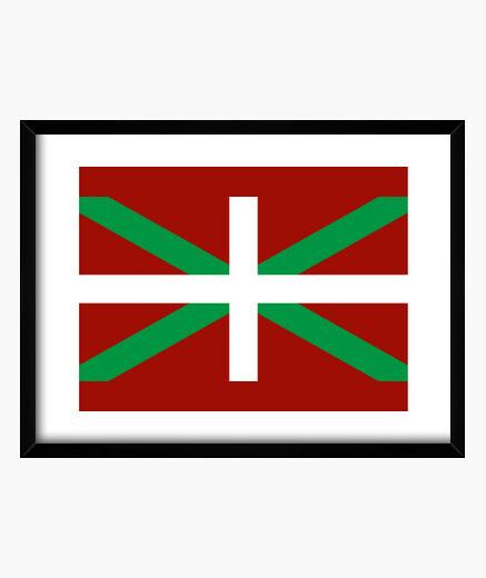 Cuadro Ikurriña (Bandera Pais Vasco)