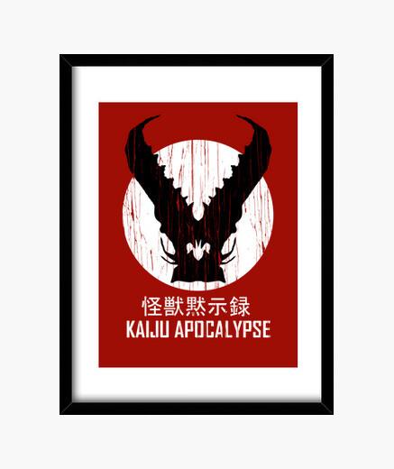 Cuadro Kaiju Apocalypse
