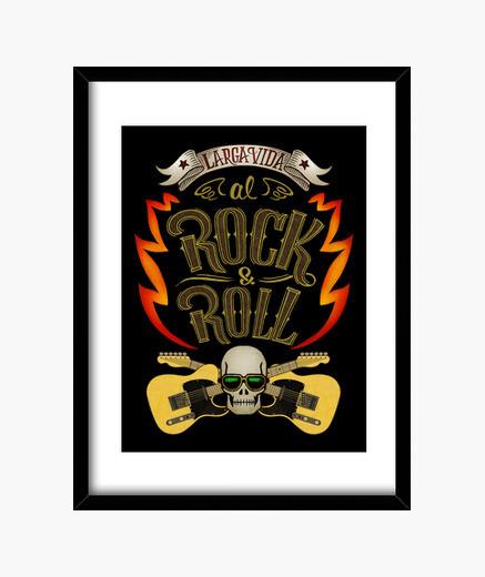 Cuadro Larga vida al rock and roll
