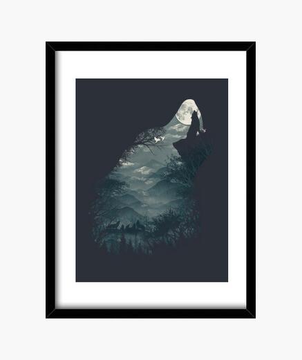 Cuadro lobo