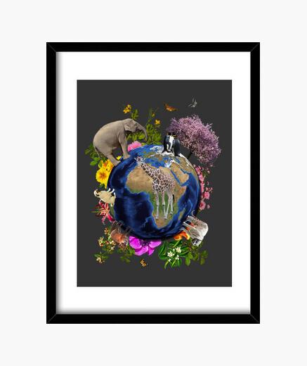 Cuadro Madre Tierra