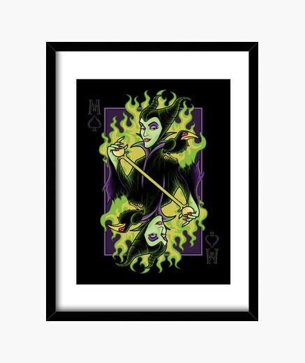 Cuadro Maleficent of Spades