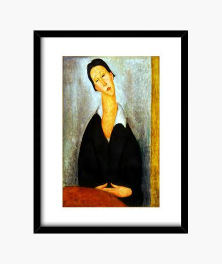 Cuadro Modigliani - Portrait of a Polish...