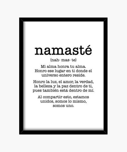 Cuadro Namasté