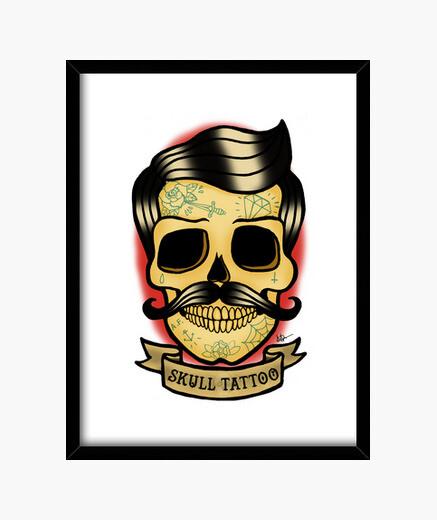 Cuadro Old skull !!!