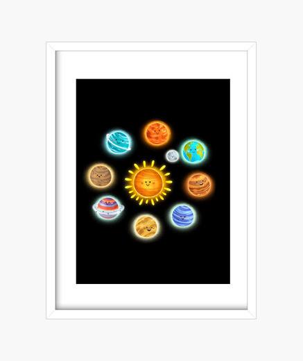 Cuadro planetas