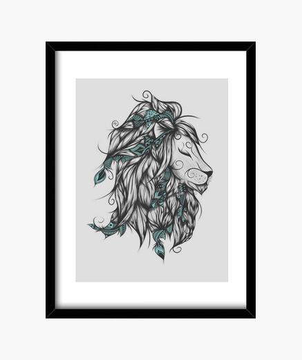 Cuadro Poetic Lion