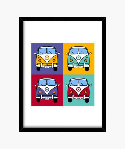 Cuadro Pop Vans