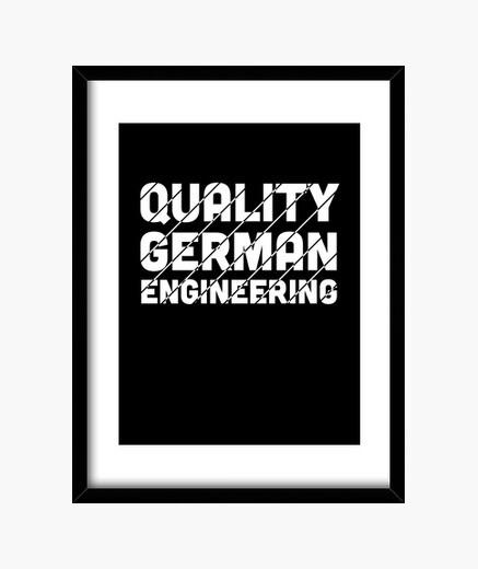 Cuadro regalo de coche de ingeniería...