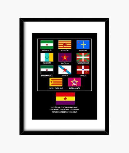 Cuadro República federal española