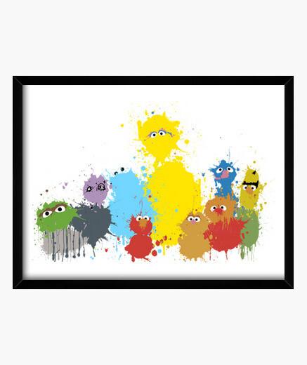 Cuadro Sesame Splash