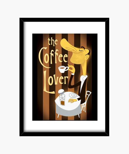 Cuadro The Coffee Lover