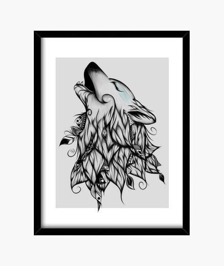 Cuadro The Wolf