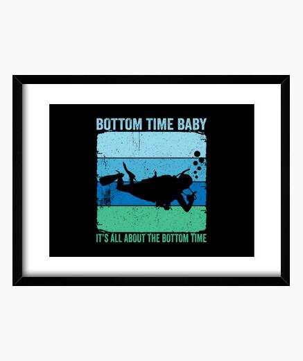 Cuadro tiempo de fondo bebé es sobre el...