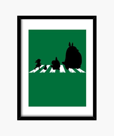 Cuadro Totoro Road