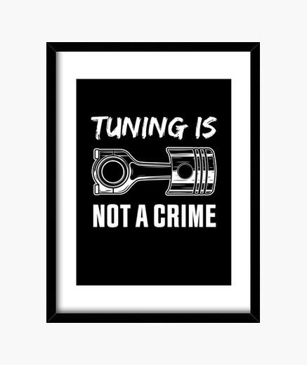 Cuadro tuning no es un regalo de crimen...