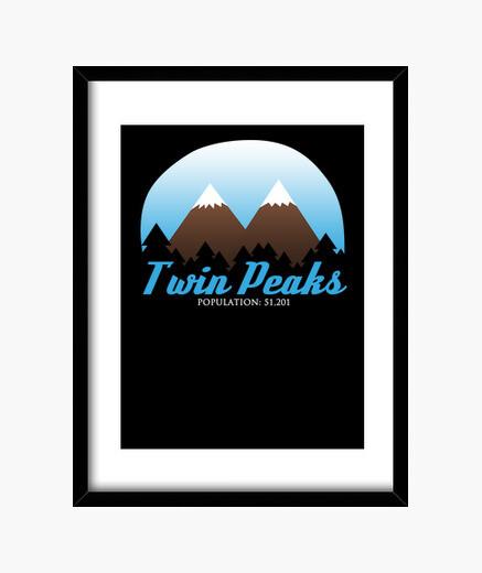 Cuadro Twin Peaks