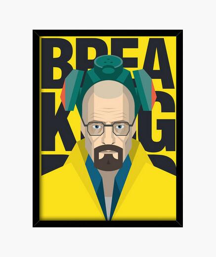 Cuadro Walter White - Breaking Bad