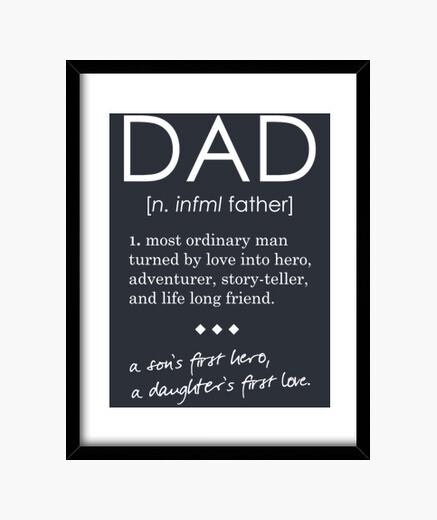 Cuadro Dad