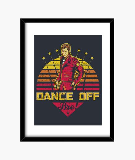Cuadro Dance Off Bro (Vintage)