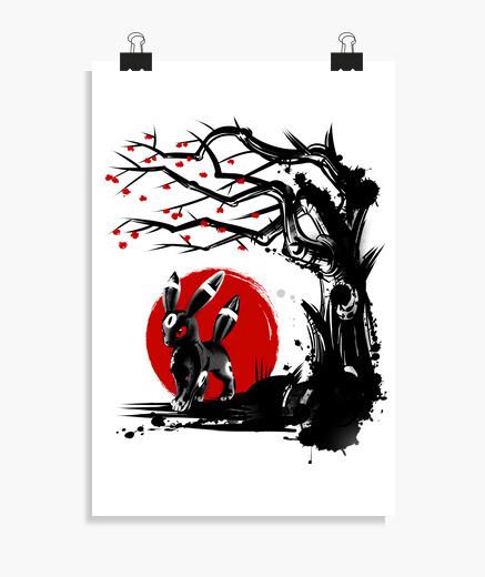 Póster Dark-Type under the tree