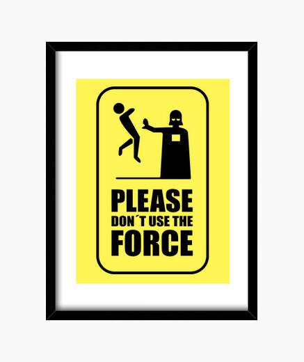 Cuadro Dark Force