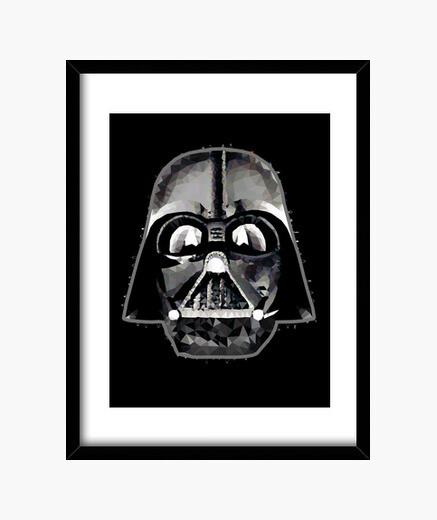 Cuadro Darth Vader Techy Art