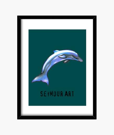 Cuadro delfín