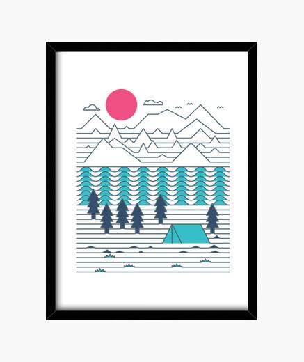 Design no. 801595 framed print