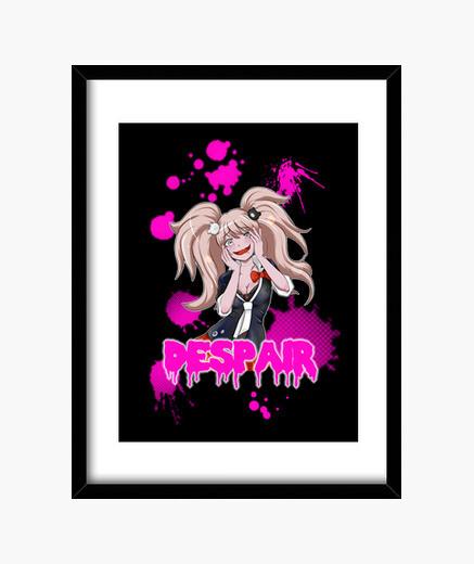 Despair framed print