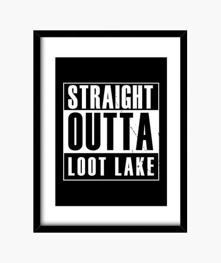Cuadro directamente del botín del lago