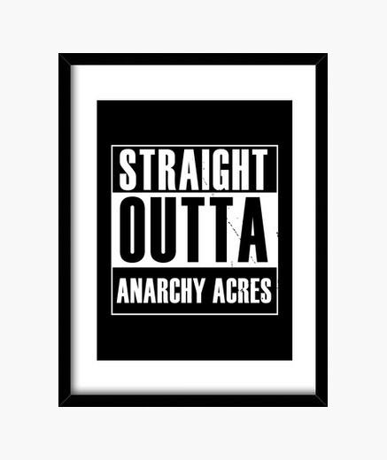Cuadro directamente fuera de anarquía acres