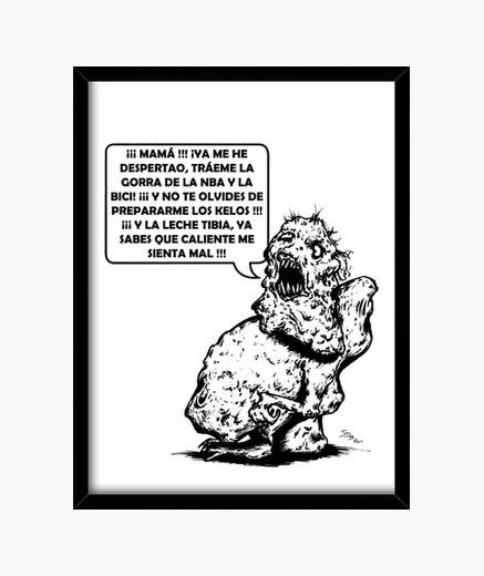 Cuadro Don Exigente
