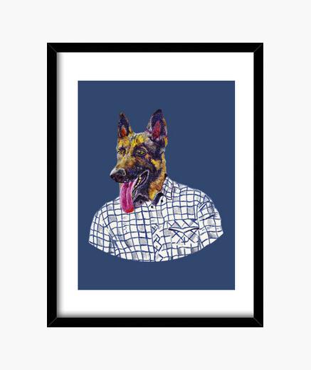 Cuadro Don perro