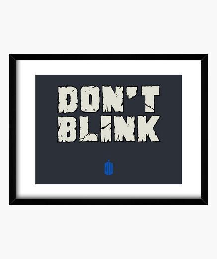 Cuadro DON'T BLINK