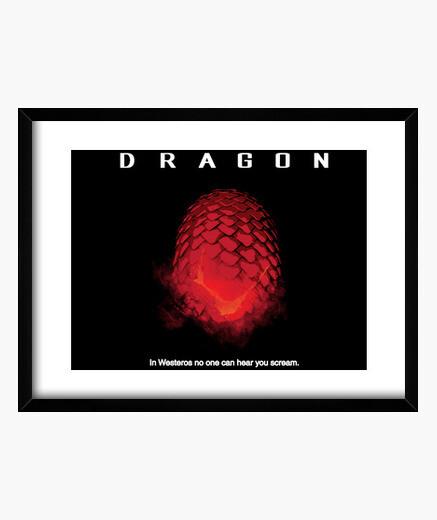 Cuadro dragón