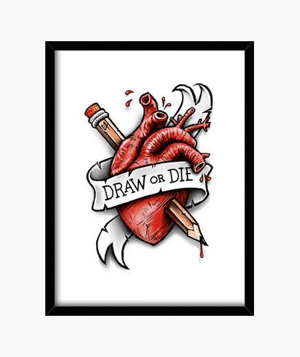 Cuadro Draw or Die