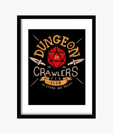 Cuadro Dungeon Crawlers Club
