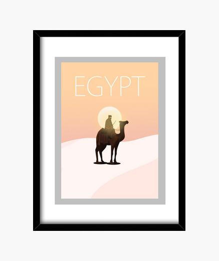 Cuadro Egipto Egypt vintage poster